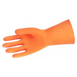 "Memphis Glove - 5430L - Large Orange Neoprene/latex Blend Glove 12"" L"