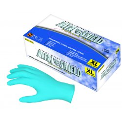 Memphis Glove - 6015XL - Xlrg 4 Mil Nitrishield Disposable Glove Pdr Free