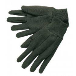 Memphis Glove - 7102 - Brn Jersey Knit Wrist Clute Pattern Lad