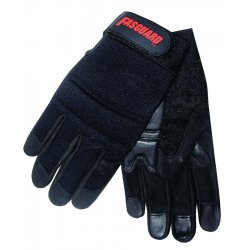 Memphis Glove - 903L - Large Fasguard Glove Amara Leather Palm Blk Grai
