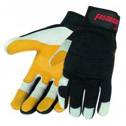 Memphis Glove - 906M - Medium Fasguard Glove White Grain Goatskin