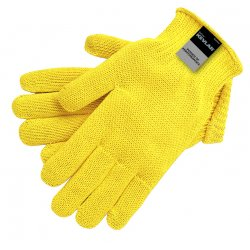 Memphis Glove - 9370XL - Memphis Glove X-Large Yellow Memphis Glove 7 gauge Kevlar Cut Resistant Gloves With Knit Wrist