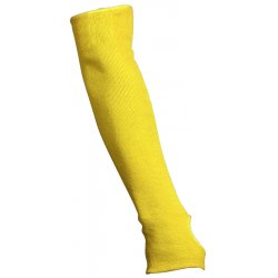 "Memphis Glove - 9378E - Memphis Glove Yellow 18"" Economy Series Kevlar And Cotton Sleeve, Plain"