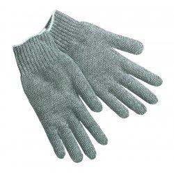 Memphis Glove - 9506LM - Large 100% Cotton Heavyweight Natural Str. Glove