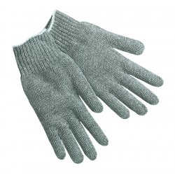 Memphis Glove - 9638LM - Memphis Large Yellow Cotton Uncoated Work Gloves With Knit Wrist