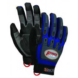 Memphis Glove - B100XL - Forceflex Dry Grip Tpr Protection- Hook/loop Xl