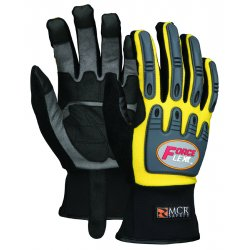 Memphis Glove - Y300M - Forceflex Yellow Multitask W/clarino Palm- Size