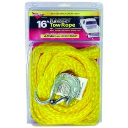Keeper - 02858 - 16 Ft. Emergency Tow Rope