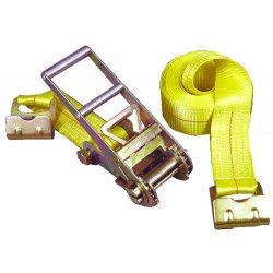 "Keeper - 04637 - Tie-down 27'x3"" Rachet15-000lb Flat Hooks"
