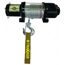 Keeper - KT4000 - Electric Winch, 4, 000 lb. Single Line Pull, 12 V DC, Black