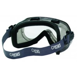 Crews - 2410NF - Verdict Grey Vinyl Frameclear Lens Goggle