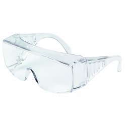Crews - 9800XLB - Crews Yukon Safety Glasses With Clear Polycarbonate Frame And Clear Polycarbonate Anti-Scratch Lens