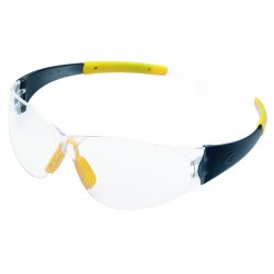 Crews - CK220 - Checkmate Safety Glassessmoke Temple Clear Lens