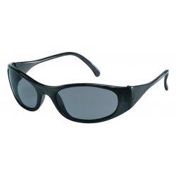 Crews - F2112 - Frostbite2 Black Frame Grey Lens Safety Glass