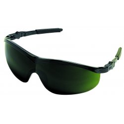Crews - ST1150 - Storm Black Frame Filter5.0 Green Lens Saftey Gl