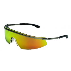 Crews - T3110AF - Triwear Metal Clear Af Lens Safety Spectacle