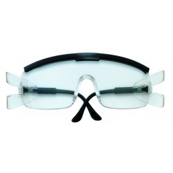 Crews - ZX910 - Zx Plus Black Frame Clear Lens Safety Glass