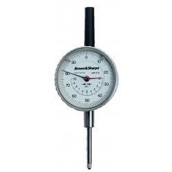 "Brown & Sharpe Precision - 14.82022 - Continuous Reading Dial Indicator, AGD 2, 2.250"" Dial Size, 0 to 1"" Range"