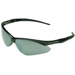 Jackson Safety - 3011374 - Nemesis Black Frame Safety Glasses Blue Shield L, Pr