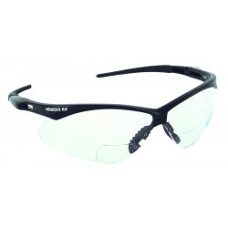 Jackson Safety - 3013305 - Nemesis Rx 1.0 Diopter Glasses Black Frame, Pr