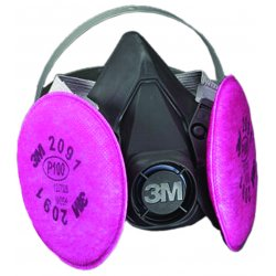 3M - 142-6391 - Half Facepiece Respirator 6000 Series, Reusable