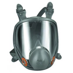 3M - 6800 - Respirator Air-purifying Respirator Full Face 3m Low Maintenance Medium Niosh, Ea