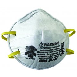3M - 8110S - N95 Disposable Particulate Respirator, White, S, 20PK
