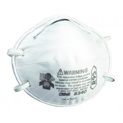 3M - 8240 - Respirator R95 Disposable 3m 8240 Niosh, Pk