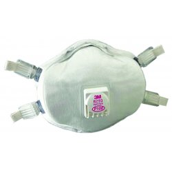 3M - 142-8293 - Respirator P100 Disposable 3m 8293 Niosh, Ea