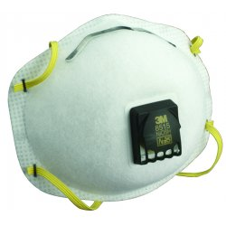 3M - 8515 - N95 Disposable Particulate Respirator, White, Universal, 10PK