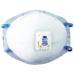 3M - 142-8577 - Particulate Respirator P95 with Nuisance Level Organic Vapor Relief, 80/Case