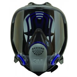 3M - FF-403 - Bayonet Connection Full Face Respirator, 6 Point Suspension, L