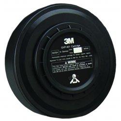3M - GVP-401 - PAPR Cartridges - L-Series Positive Pressure Headgear - PAPR Cartridges Organic Vapor PAPR Cartridge (Case of 6)