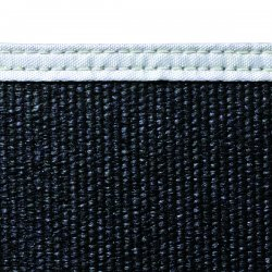 Wilson Industries - 36318 - Wilson 6'h X 8'w Black24 Oz Fiberglss Blanket