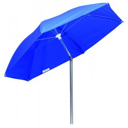 Wilson Industries - 36684 - Wilson Umbrella Blue Canvas 6' Diameter