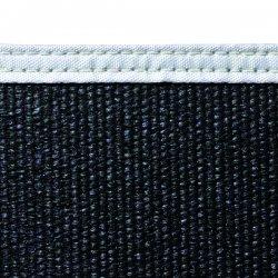 Wilson Industries - 36217 - Wilson 5'h X 5'w Black24 Oz Fiberglss Blanket