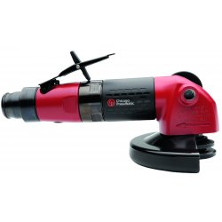 "Chicago Pneumatic - CP3450-12AB5 - 9-13/64"" Industrial Duty Air Angle Grinder"