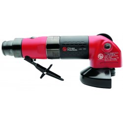 "Chicago Pneumatic - CP3450-12AC4 - Industrial Duty Air Angle Grinder, 4"" Wheel Dia."