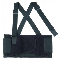 Ergodyne - 11094 - Ergodyne ProFlex Economy Elastic Back Support - Strap Mount - Black