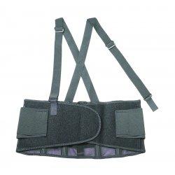 "Ergodyne - 11096 - ProFlex Economy Elastic Back Support - Adjustable, Strechable, Comfortable - 46"" Adjustment - Strap Mount - 7.5"" - Black"