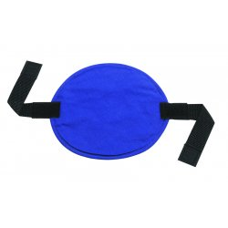 Ergodyne - 12337 - Ergodyne Solid Blue Chill-Its 6715 Lightweight Acrylic Polymer Evaporative Hard Hat Cooling Pad With Hook And Loop Closure
