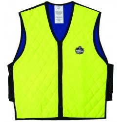 Ergodyne - 12534 - Chill-its 6665 Evaporative Cooling Vest Lrg Lime
