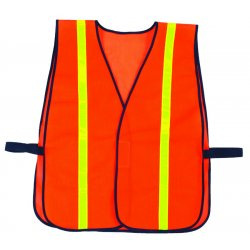 Ergodyne - 20070 - Non Cert Reflective Vest-Orange, one size