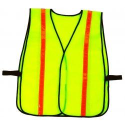Ergodyne - 20080 - 8040hl- Economy Vest- Hi-gloss- Lime- One Size