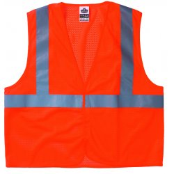 Ergodyne - 21015 - GloWear 8210HL Orange Class 2 Economy Vest - L/XL