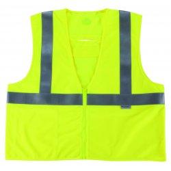 Ergodyne - 21493 - GloWear 8260FRHL Lime Class 2 FR Modacrylic Vest - S/M