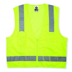 Ergodyne - 24025 - GloWear 8249Z Class 2 Economy Surveyors Vest GloWear 8249Z Class 2 Economy Surveyors Vest