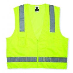 Ergodyne - 24027 - GloWear 8249Z Class 2 Economy Surveyors Vest GloWear 8249Z Class 2 Economy Surveyors Vest