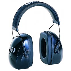 Howard Leight / Honeywell - 1010922 - 25dB Over-the-Head Ear Muff, Gray&#x3b; ANSI S3.19-1974
