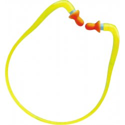 Howard Leight / Honeywell - QB1HYG - 27dB Reusable Bell-Shape Hearing Band&#x3b; Banded, Orange, Universal